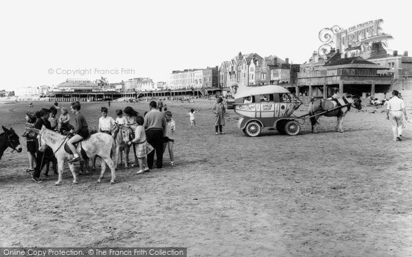 Burnham On Sea, The Donkeys c.1960