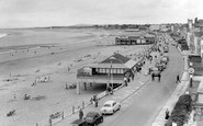 Burnham-On-Sea, The Esplanade c.1960