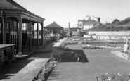 Burnham-On-Sea, The Gardens c.1939