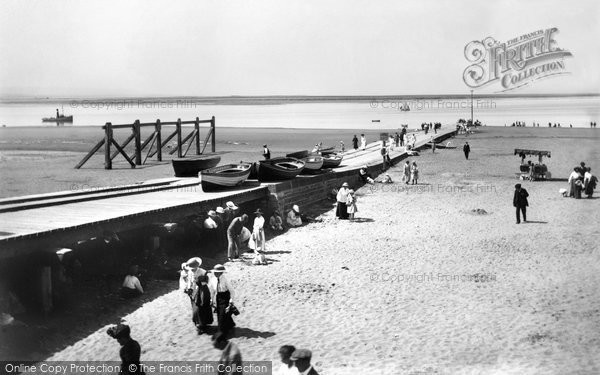 Burnham On Sea, The Jetty 1918
