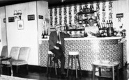 Burnham-On-Sea, The Lounge Bar, Lakeside Social Club c.1965