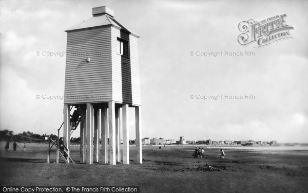 Burnham On Sea, The Low Lighthouse 1918