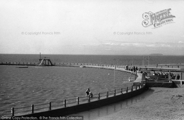 Burnham On Sea, The Marine Lake 1939