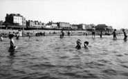 Burnham-On-Sea, The Paddling Pool c.1955