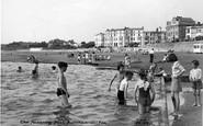 Burnham-On-Sea, The Paddling Pool c.1955