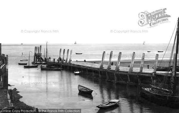 Burnham On Sea, The Pier 1890