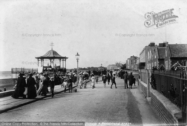 Burnham On Sea, The Promenade 1903