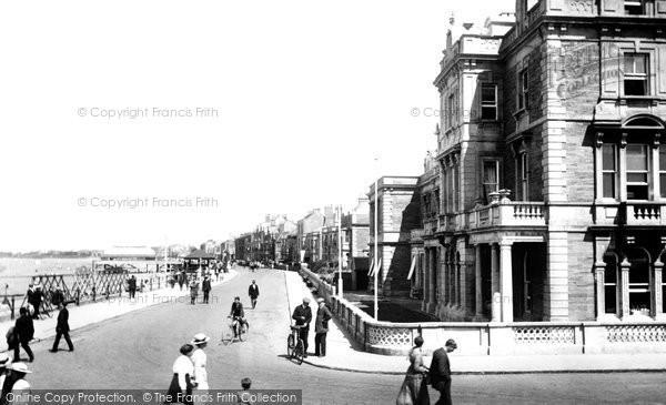 Burnham On Sea, The Promenade 1918
