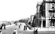 Burnham-On-Sea, The Promenade 1918