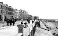 Burnham-On-Sea, The Promenade And Beach 1913