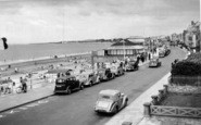 Burnham-On-Sea, The Promenade c.1955