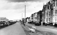 Burnham-On-Sea, The Promenade c.1960