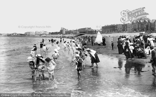 Burnham On Sea, The Sands 1907