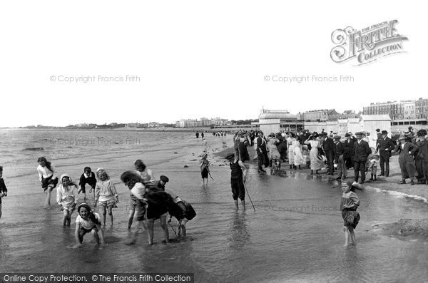 Burnham On Sea, The Sands 1913