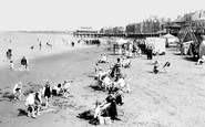 Burnham-On-Sea, The Sands 1926