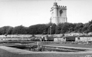 Burnham-On-Sea, The Sunken Gardens c.1955