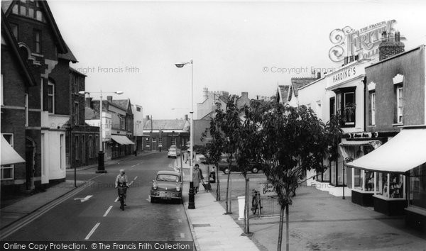 Burnham On Sea, Victoria Street c.1960