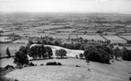 Burnham-On-Sea, View From Brent Knoll c.1955