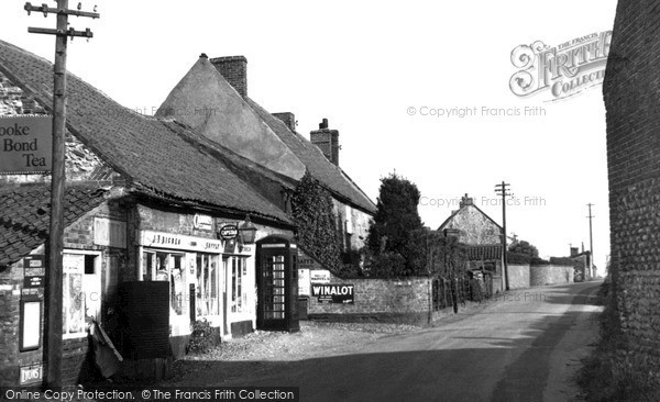Burnham Overy Staithe, Post Office Corner c.1955