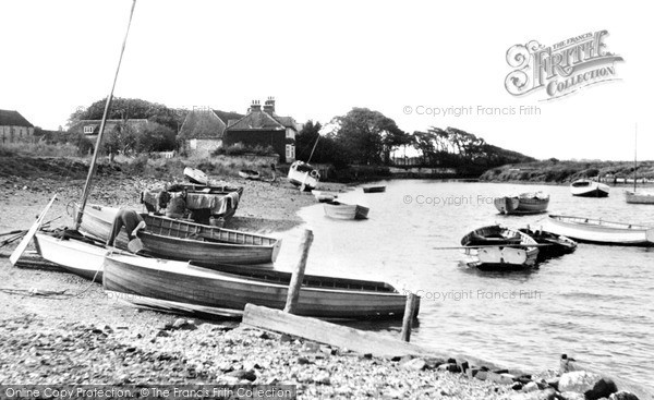 Burnham Overy Staithe, The Creek c.1955