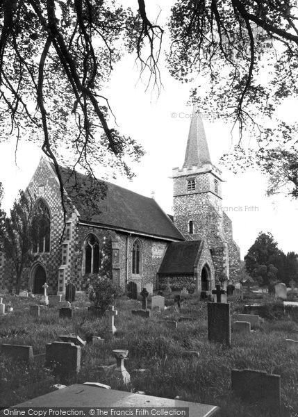 Photo of Burnham, St Peter's Church c1965
