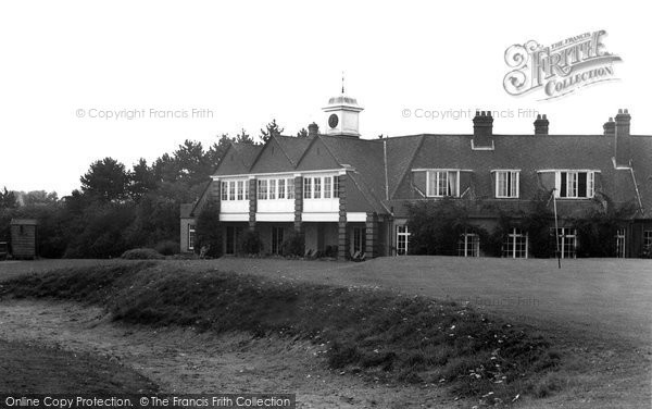 Burnham, The Golf Course c.1965