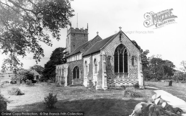 Burnham Thorpe, All Saints Church c.1955