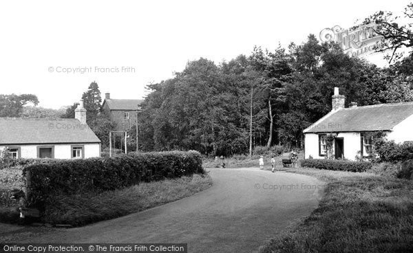 Burnhead, The Village c.1960