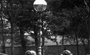 Burnley, A Street Lamp 1895
