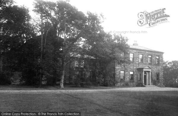 Burnley, Bank Hall 1895