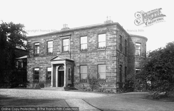 Photo of Burnley, Bank Hall 1895