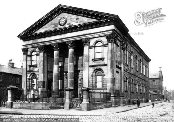 Burnley, Fulledge Chapel 1895