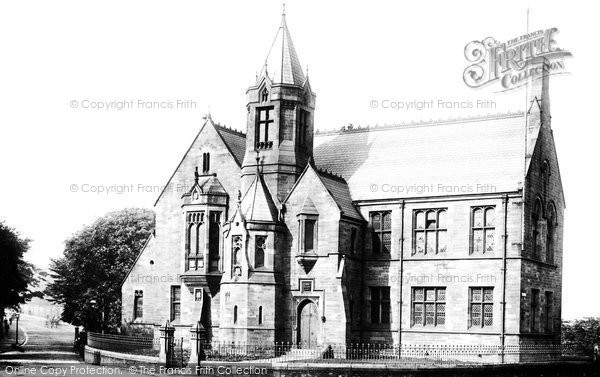 Burnley, Grammar School 1895