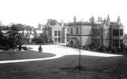 Burnley, Huntroyde Hall 1895