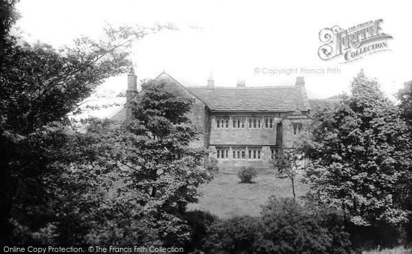 Burnley, Hurstwood (Poet Spenser's House) 1895
