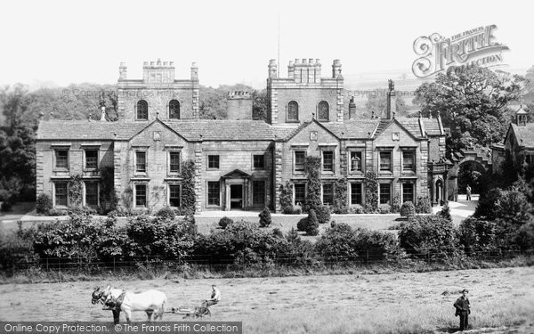 Photo of Burnley, Ormerod Hall 1895