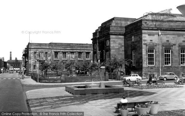 Burnley, Public Library 1961