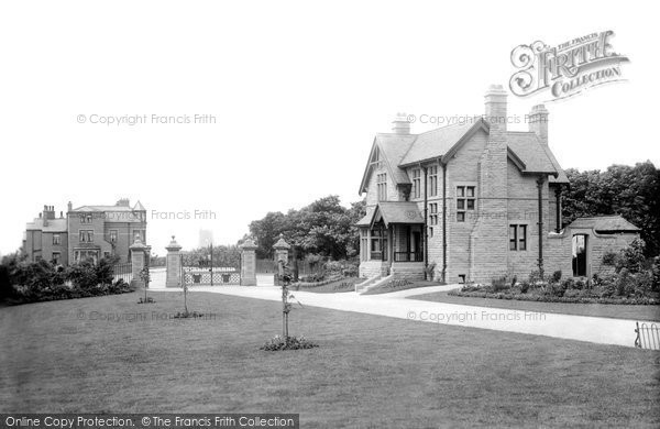 Burnley, Queen's Park Entrance 1895