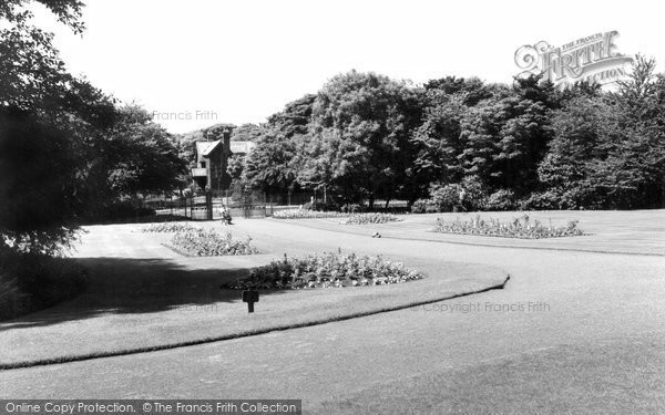 Burnley, Queens Park c.1960