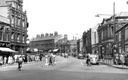 Burnley, St James Street c.1955