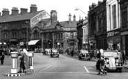 Burnley, St James Street c.1955