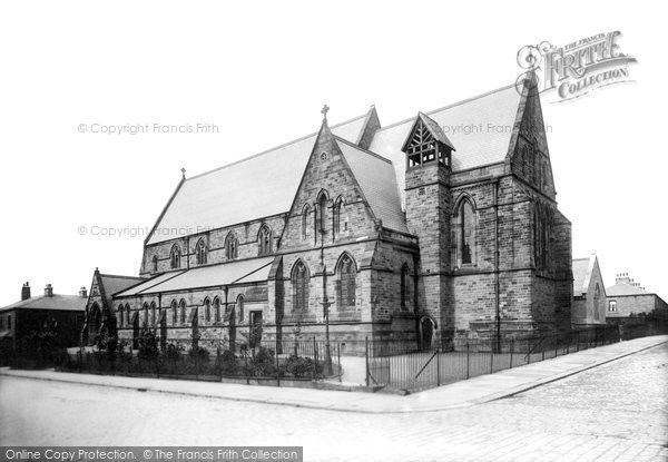 Burnley, St Matthew's Church  1895