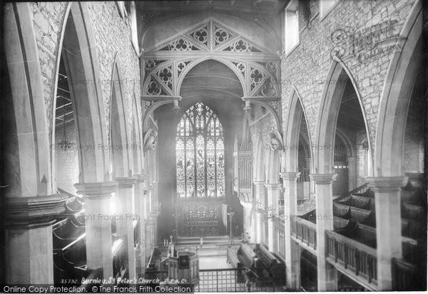 Burnley, St Peter's Church 1895