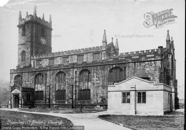 Burnley, St Peter's Church 1906