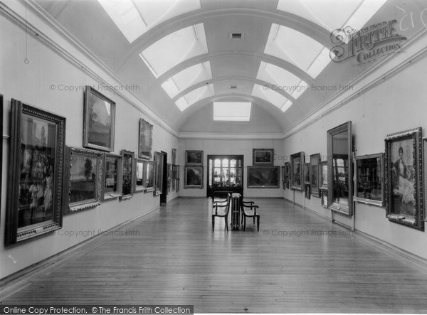 Burnley, The Art Gallery, Towneley Hall c.1955
