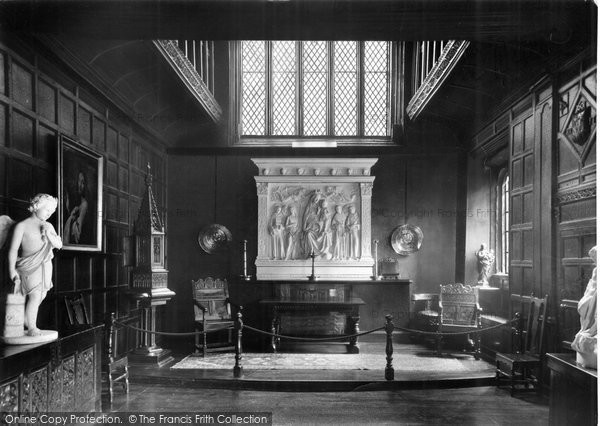 Burnley, The Chapel, Towneley Hall c.1955
