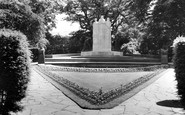 Burnley, The Memorial c.1960