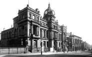Burnley, Town Hall 1895