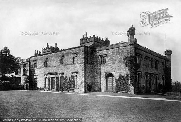 Burnley, Towneley Hall 1895