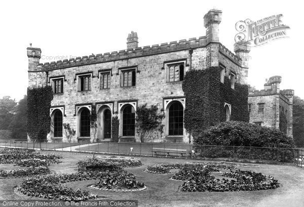 Burnley, Towneley Hall 1906